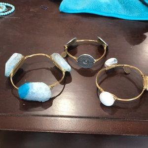 3 bourbon band bow ties bracelets
